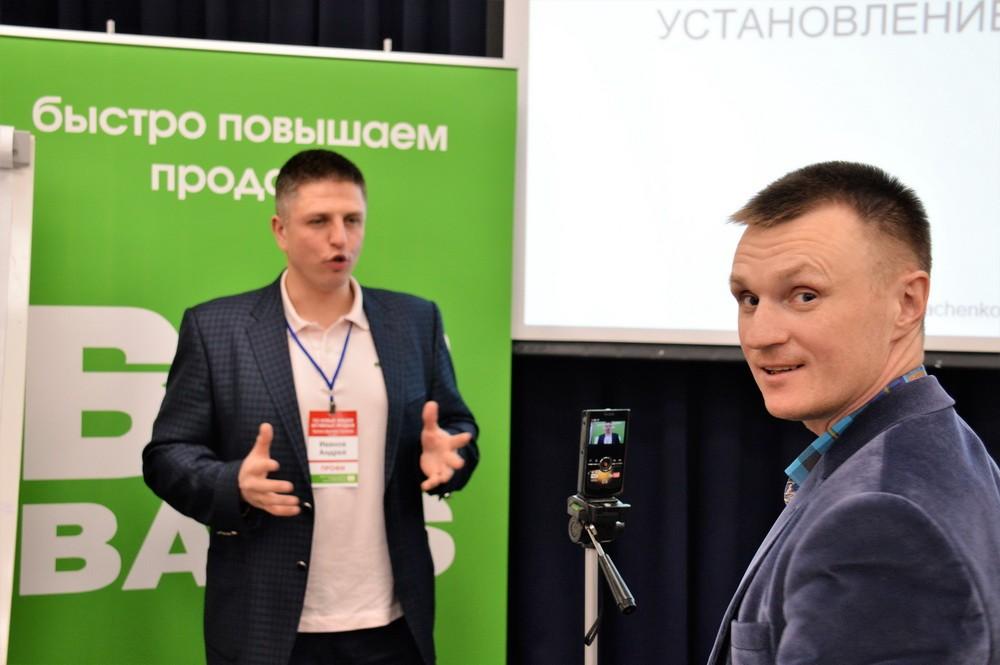 Андрей Веселов берет отзывы о тренинге