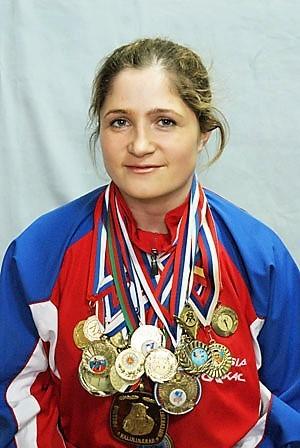Ольга Сафронова Чемпионка мира по рукопашному бою
