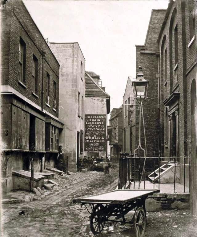 Трущобы Лондона 1850-е