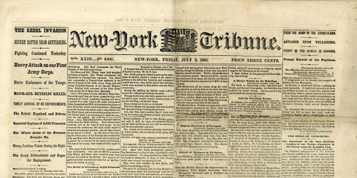 New York Tribune Karl Marx