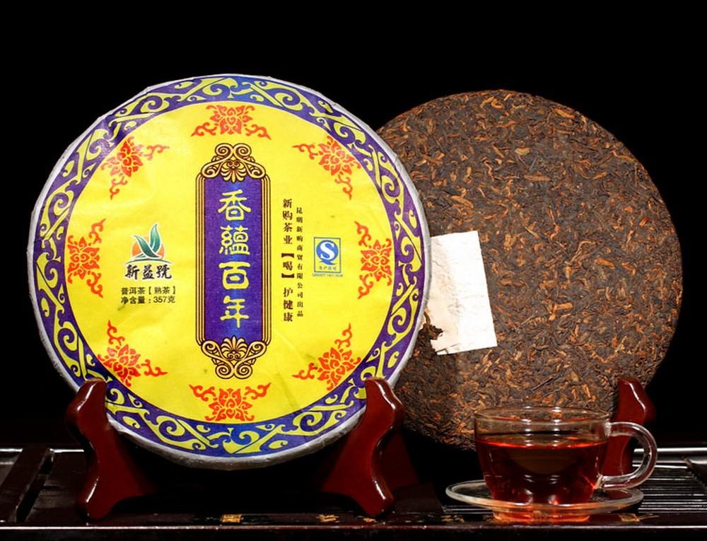 Продажа чая Пуэр