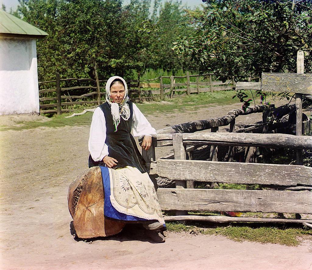 Прокудин Горский - фотографии русского села (в Малороссии)