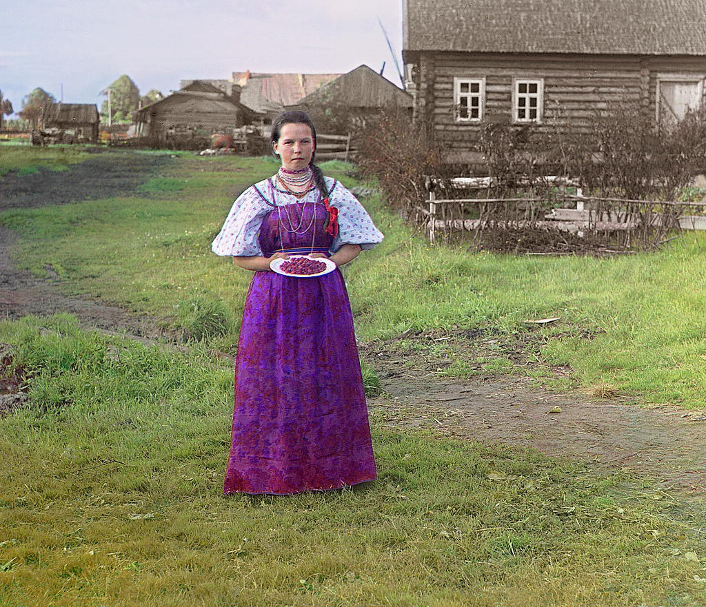 Русская деревня в фотографиях Прокудина Горского