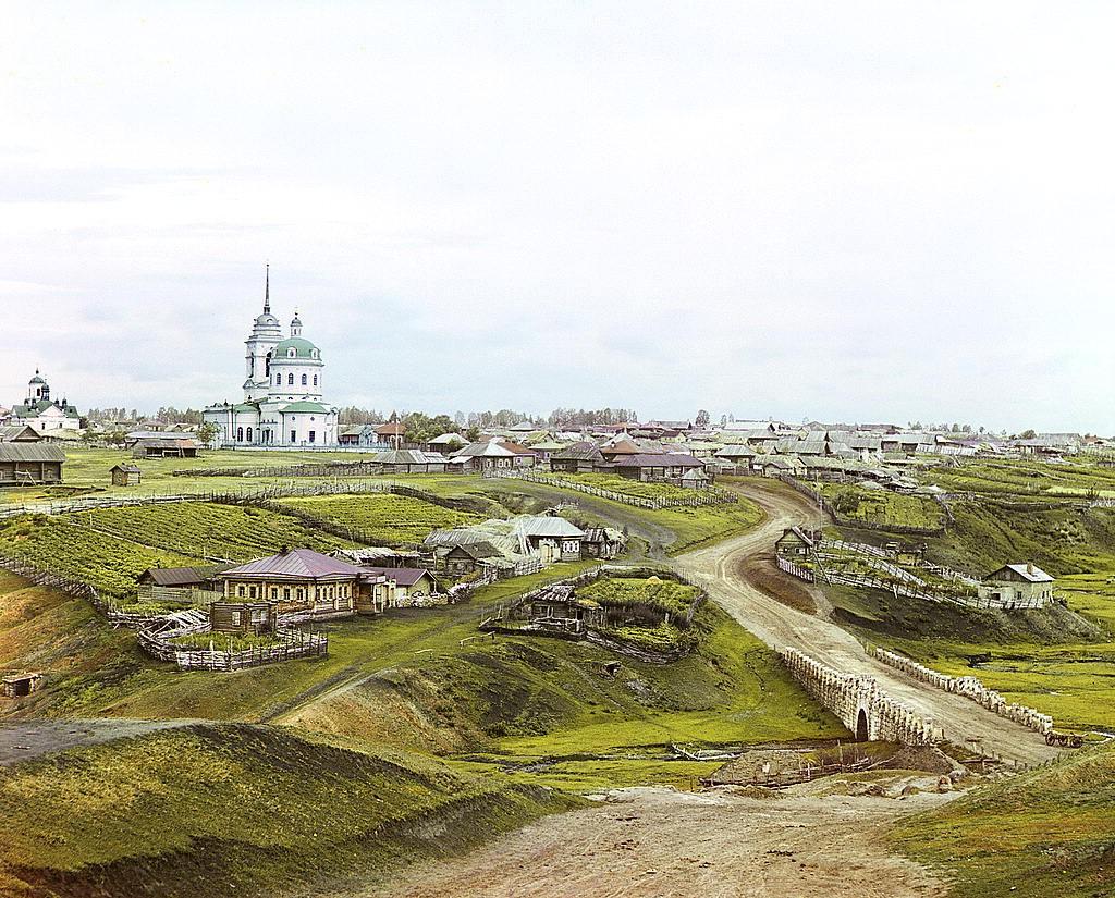 Село Колчеданское, 1912 год