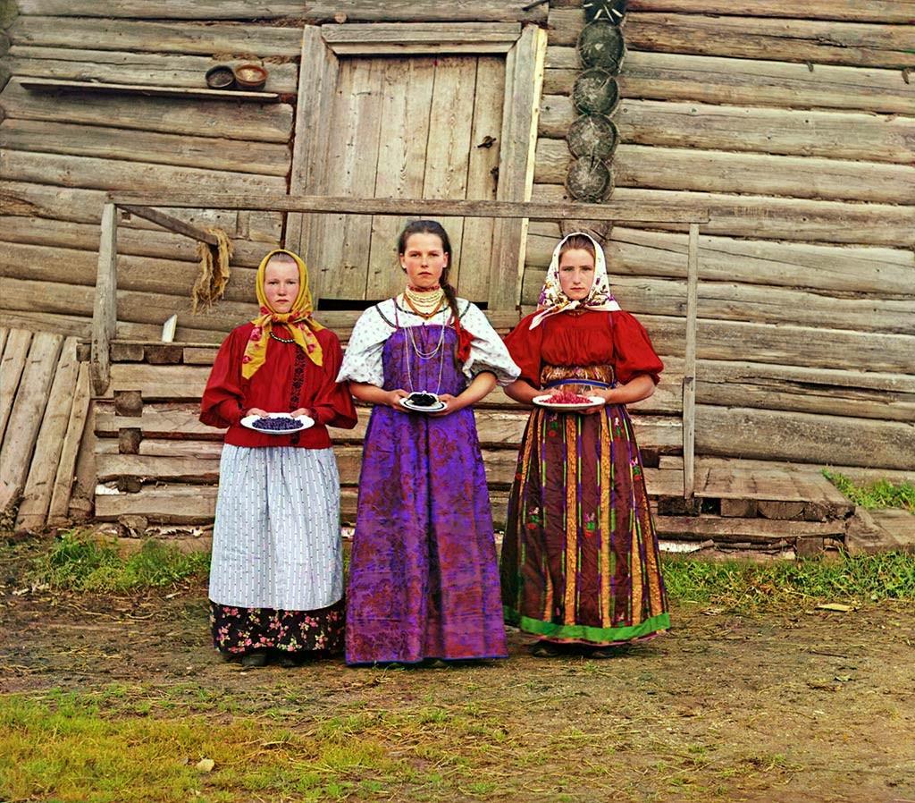крестьянские девушки Российская империя
