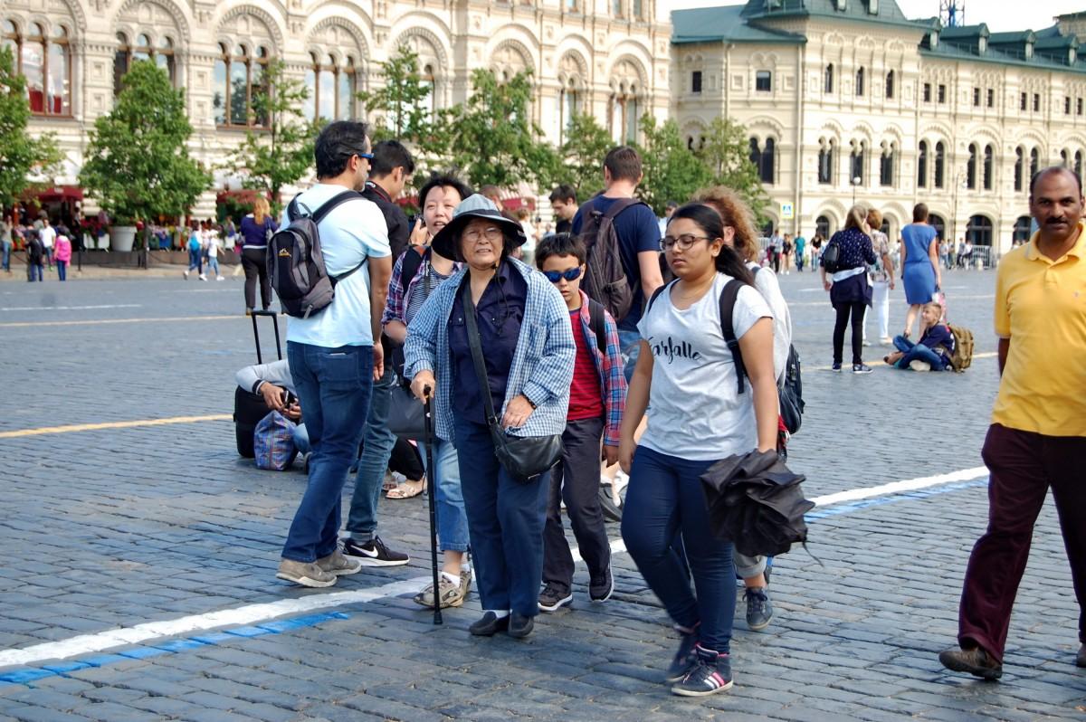 Москва, Китай, Красная площадь