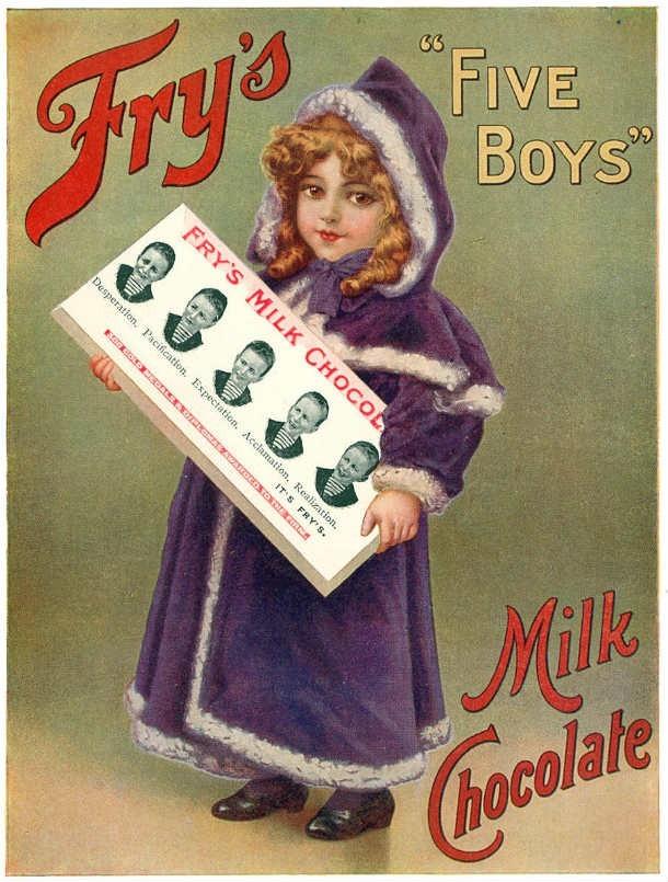 шоколадные конфеты викторианской Англии