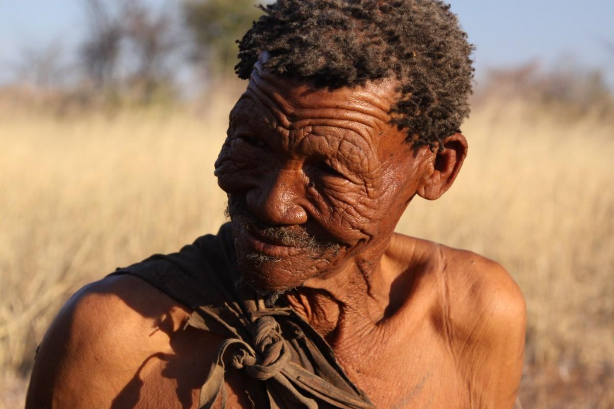 вождь племени в черной африке