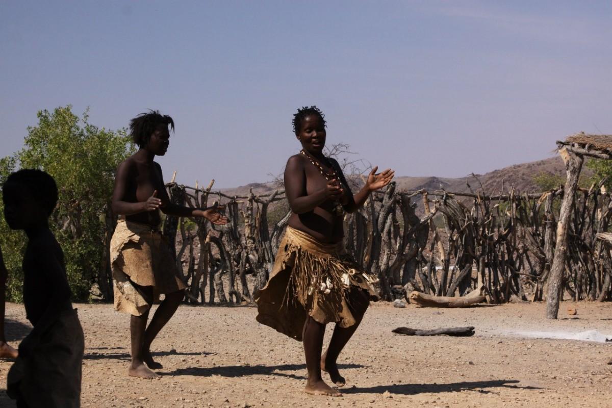 танцы в черной африке