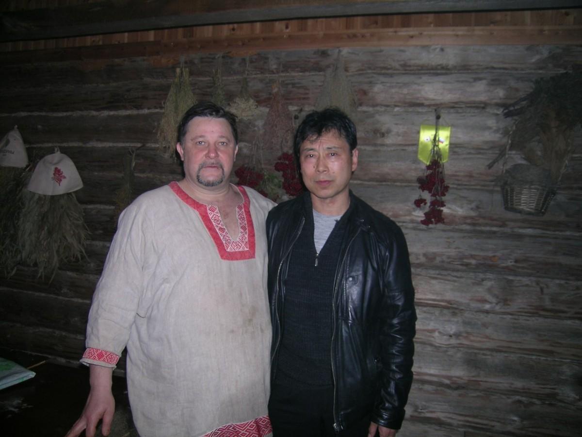 Баня по русски Наоми Номура