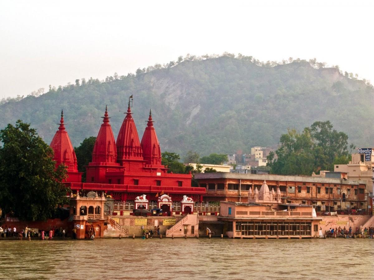 Ришикеш - Индия. Город на Ганге