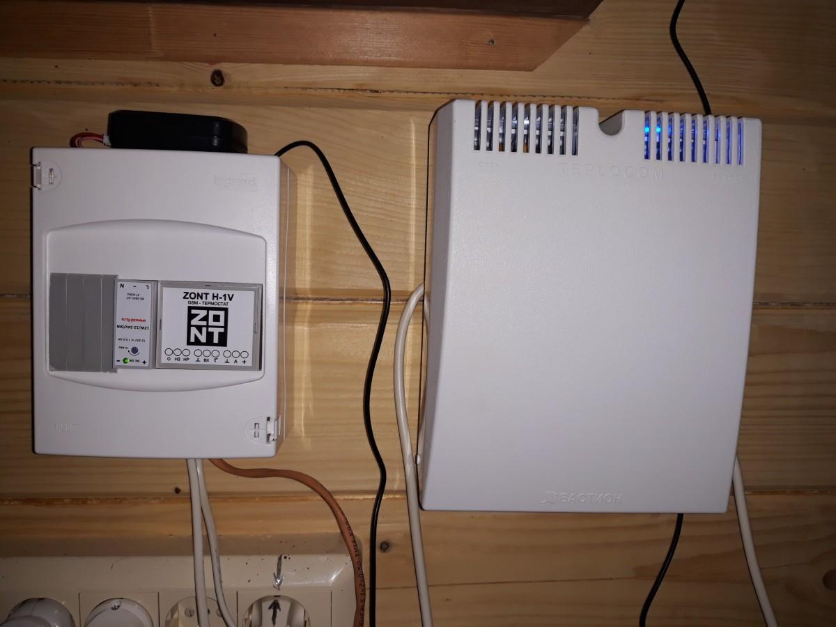 система удаленного управления газовым котлом ZONT H1