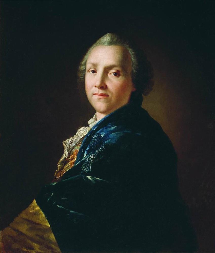 А.П.Лосенко. Портрет-А.П.Сумарокова. 1760