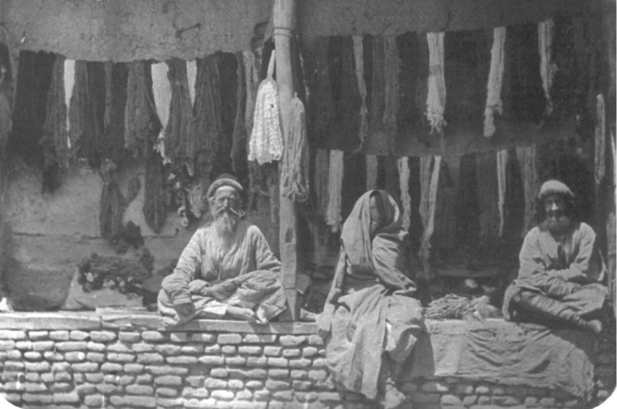 евреи продавцы шелка