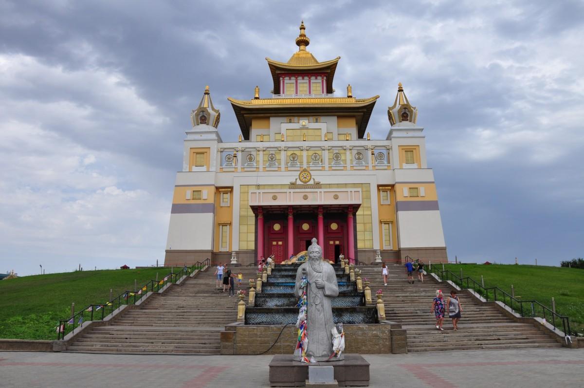 Золотая Обитель Будды Шакьямуни, Элиста