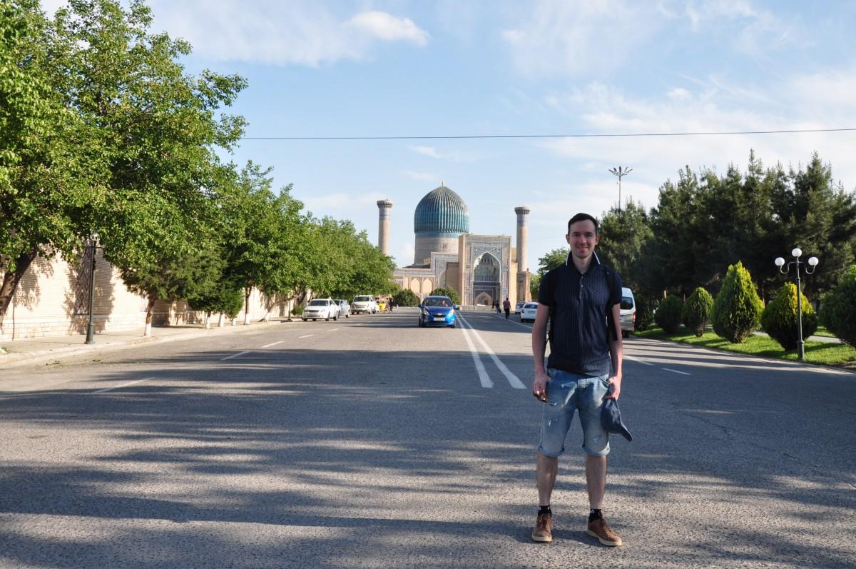 На пути к Гур-Эмиру