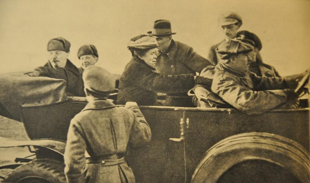 Первая фотография Ленина в Москве