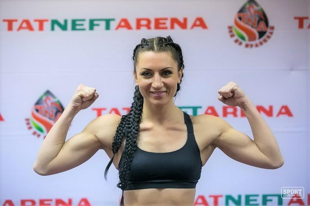 Юлия Березикова лучший спортсмен года по тайскому боксу
