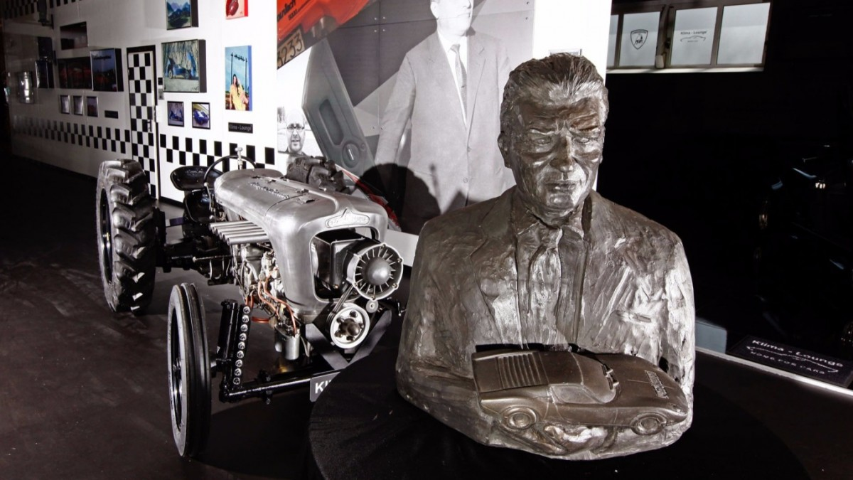 Тракторы от Ламборджини - Centenario Tractori к 100-летию Ферруччо Ламборгини. От компании Klima-Lounge