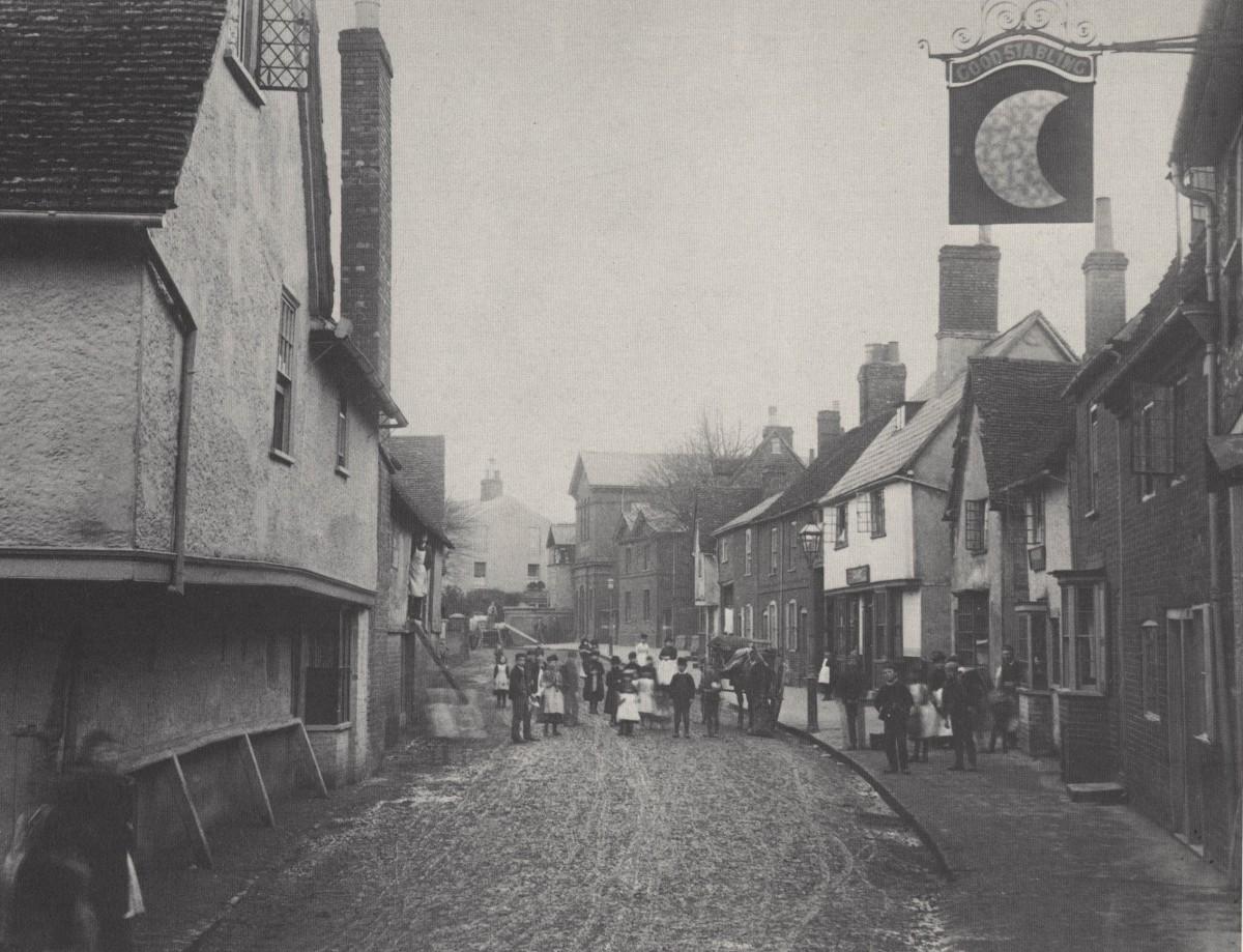 Трущобы Лондона, 1890