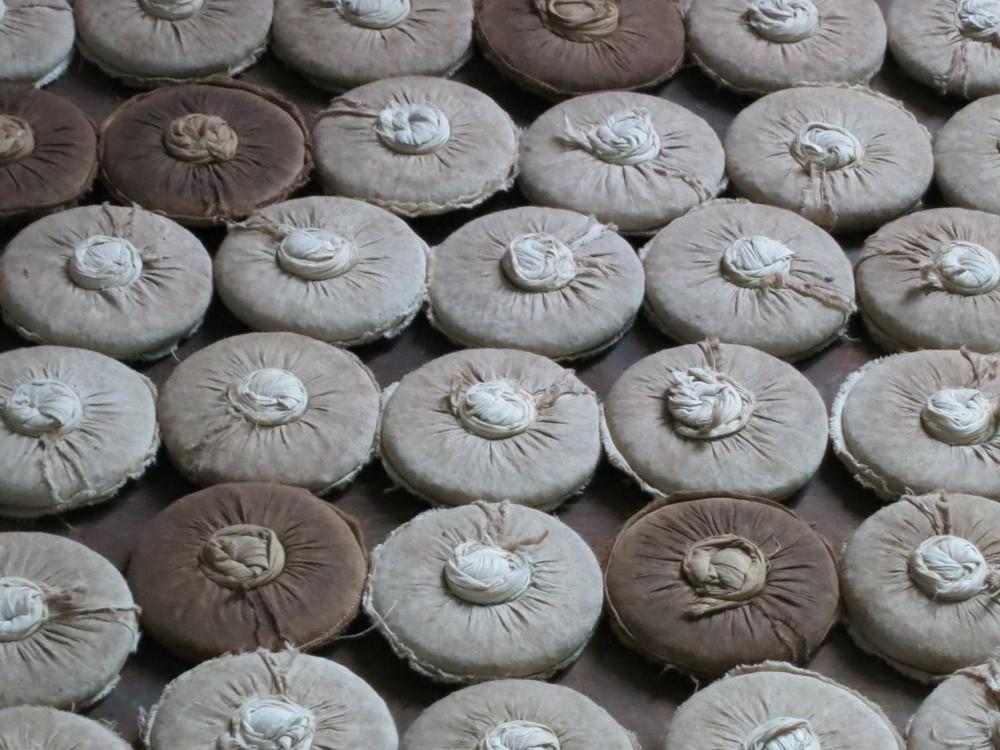 Чай пуэр производство блинов