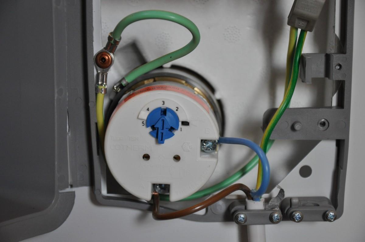схема подсоединения проводов в бойлере косвенного нагрева