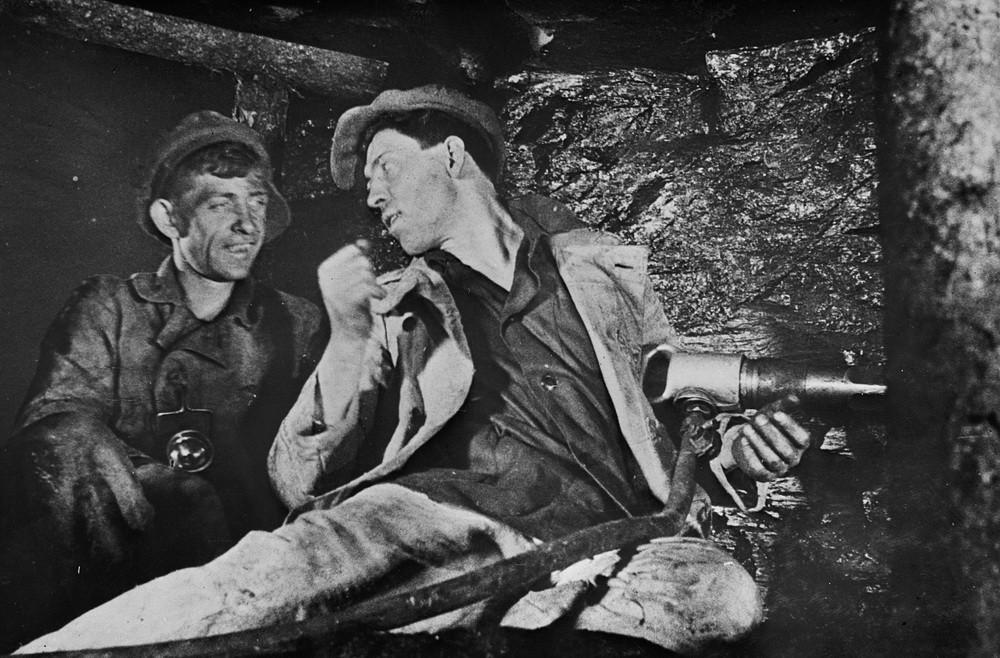 А.Г. Стаханов - один из известнейших шахтёров СССР