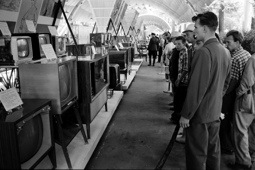 Производство радиоприемников и телевизоров в СССР