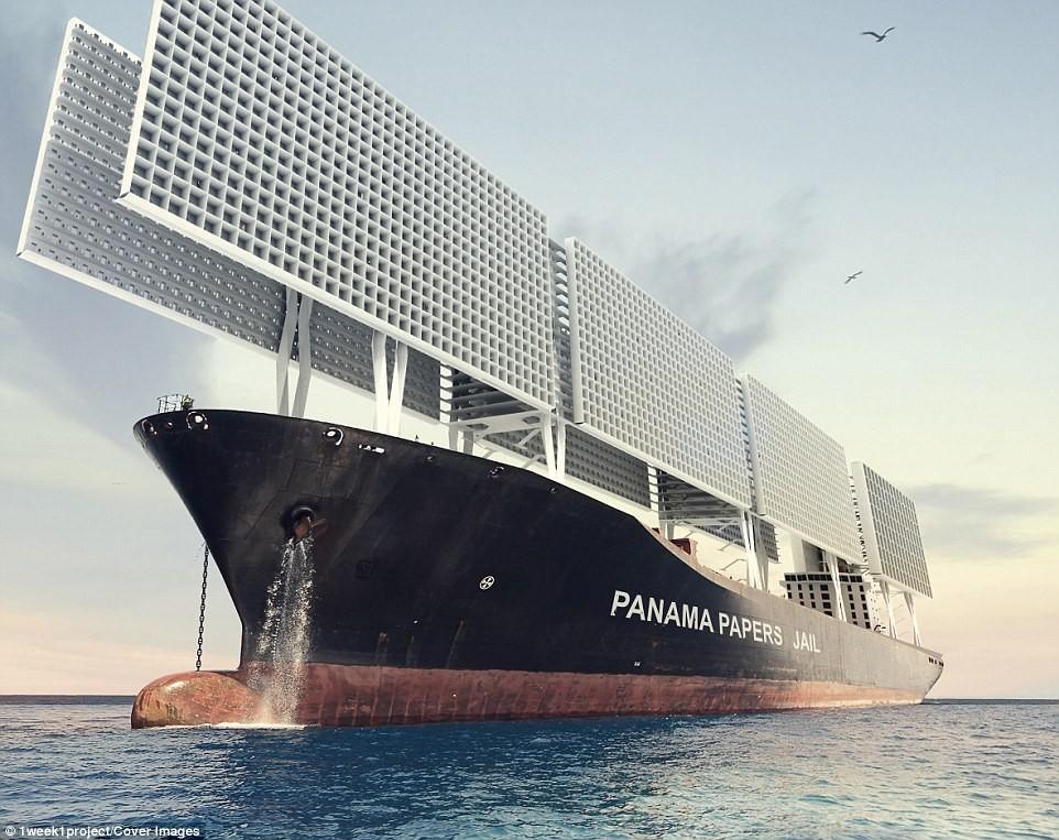 Panama Papers Jail корабль тюрьма для налоговых преступников