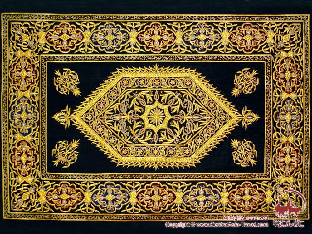 Золотое шитье узбекистан