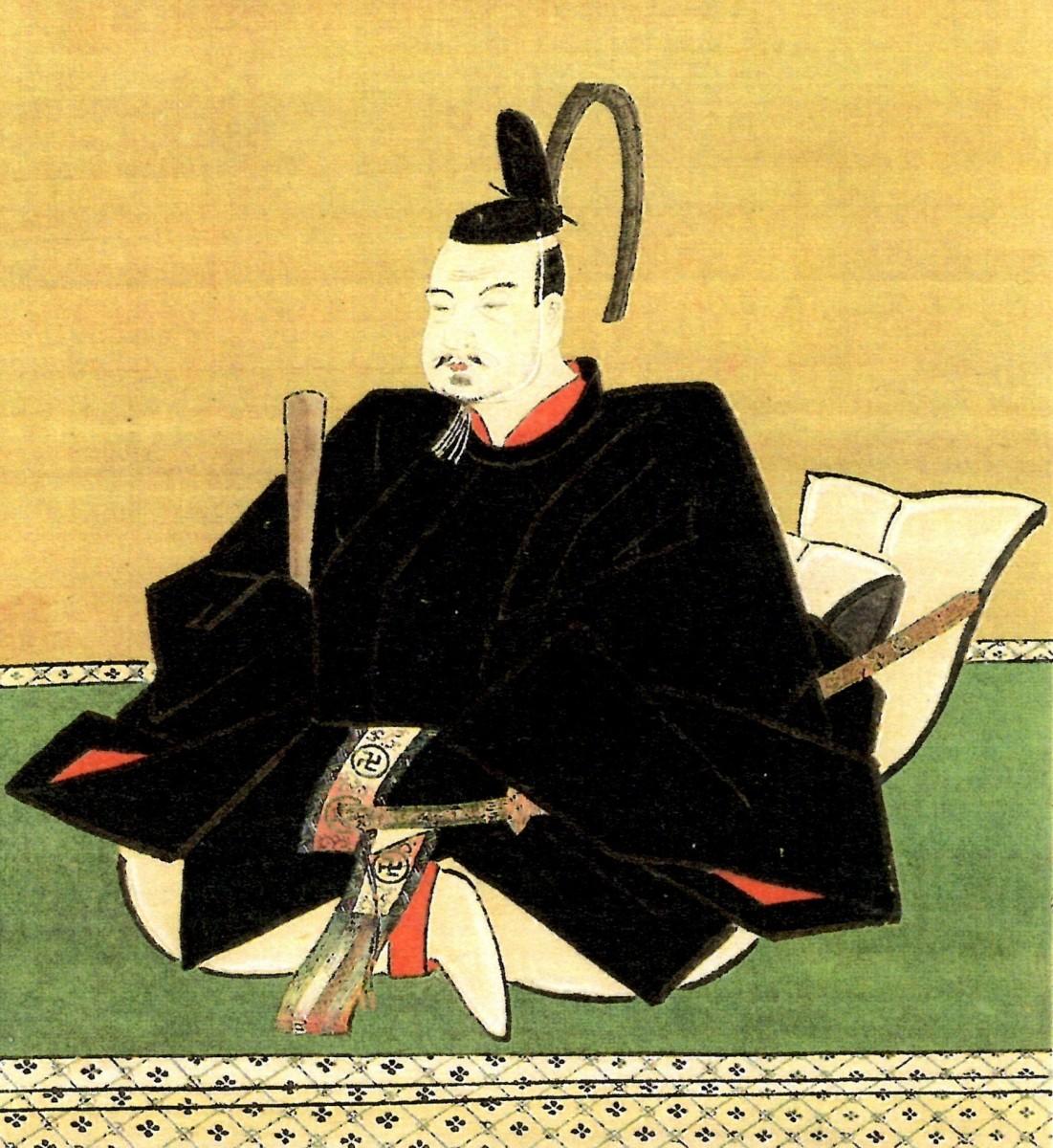 Восьмой правитель Токусимы - Хатисука Мунешиге (Хачисука Мунэсигэ)
