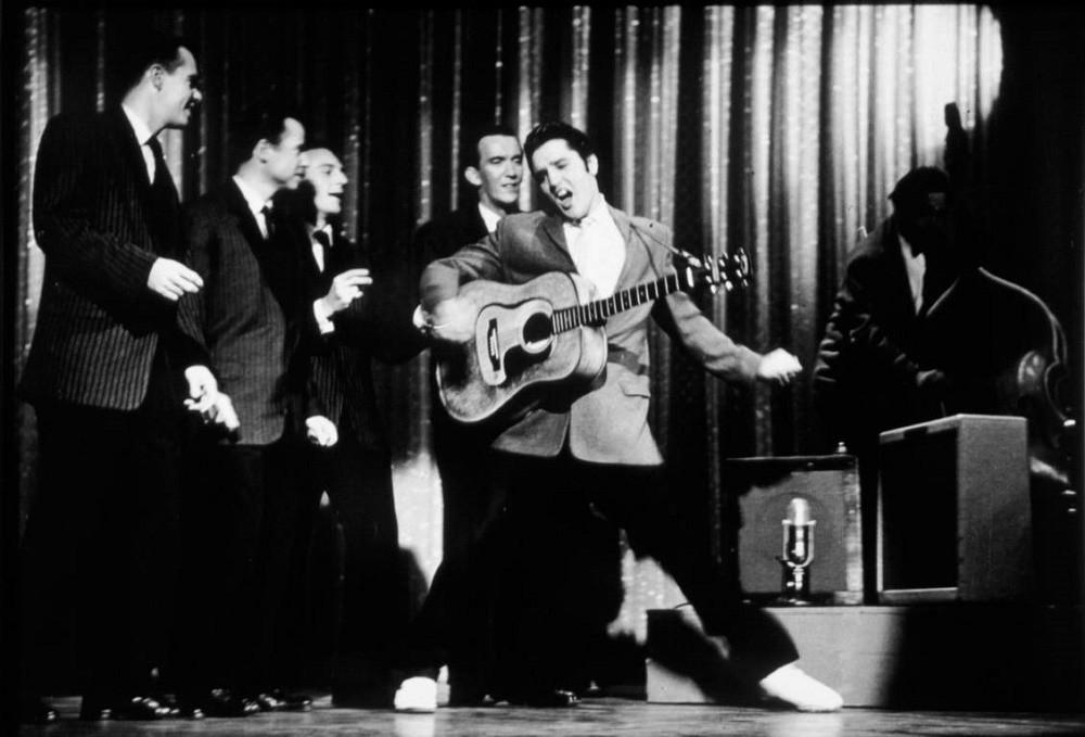 1956 год Элвис Пресли