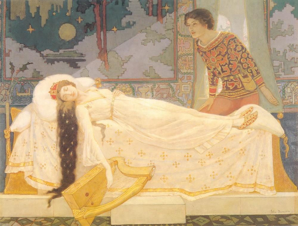 Джон Дункан_спящая красавица