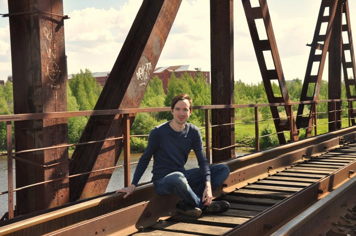 заброшенный железнодорожный мост Бетошка