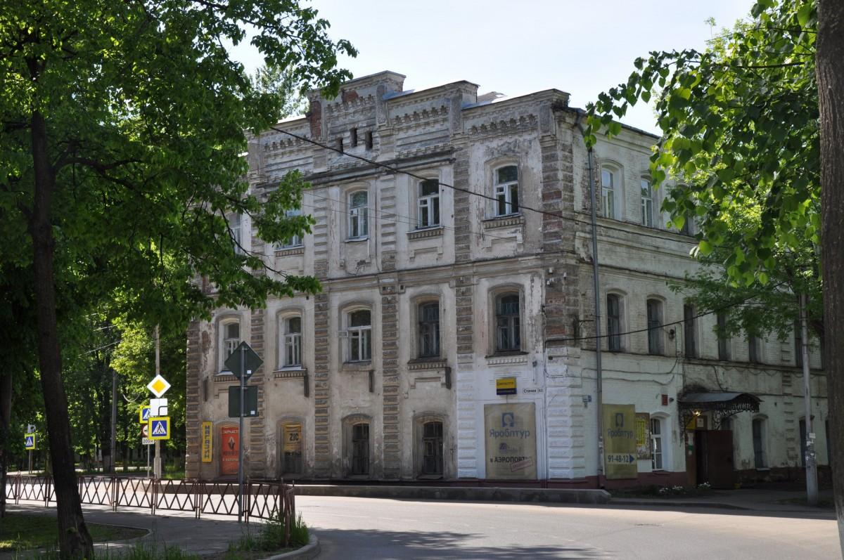 здание бывшего общежития фабрики Карзинкиных