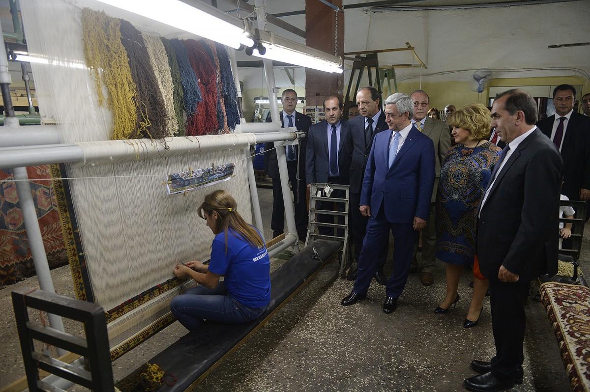 производство армянских ковров