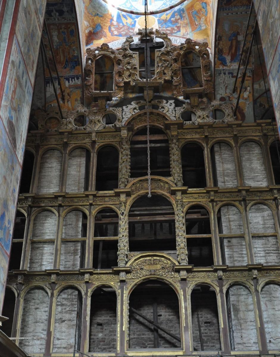 Иконостас церкви Иоанна Предтечи в Толчкове