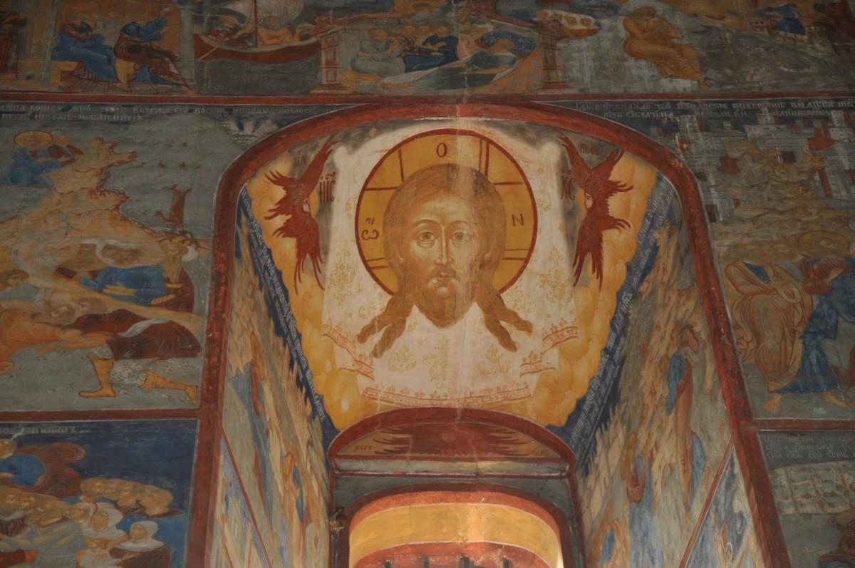 фрески храма Иоанна Предтечи в Толчкове - Ярославль