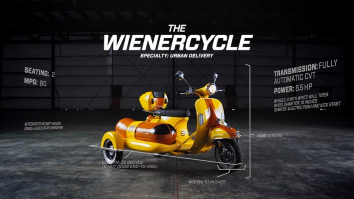мотоцикл-хот дог
