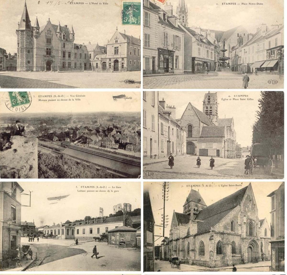 Фотографии Парижа начала 20 века