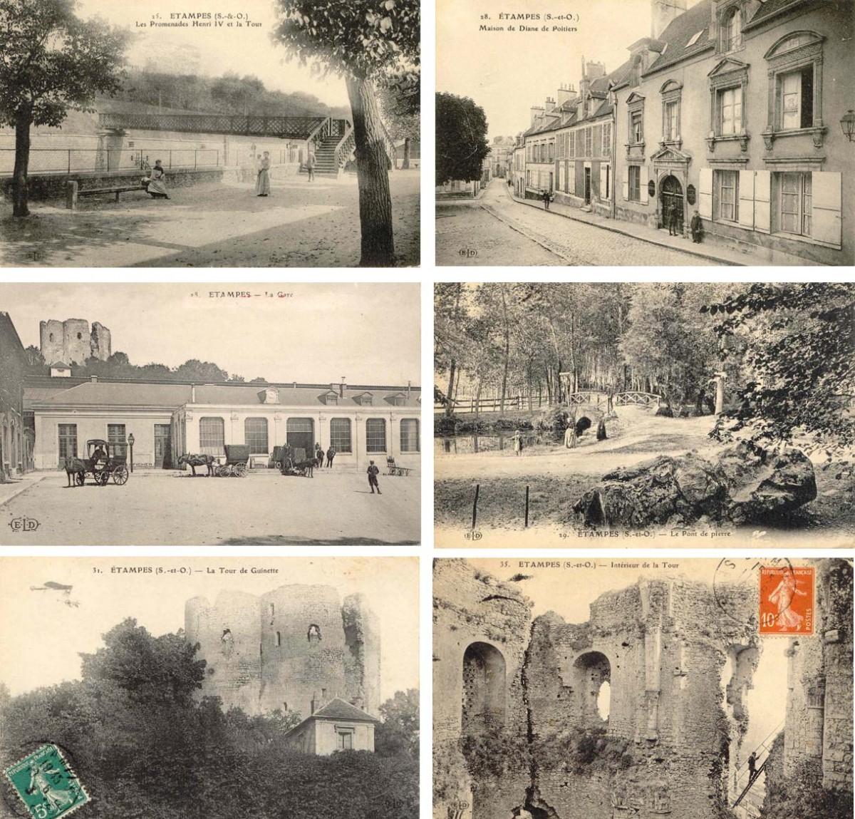 Фотографии Франции и Парижа, начало XX века