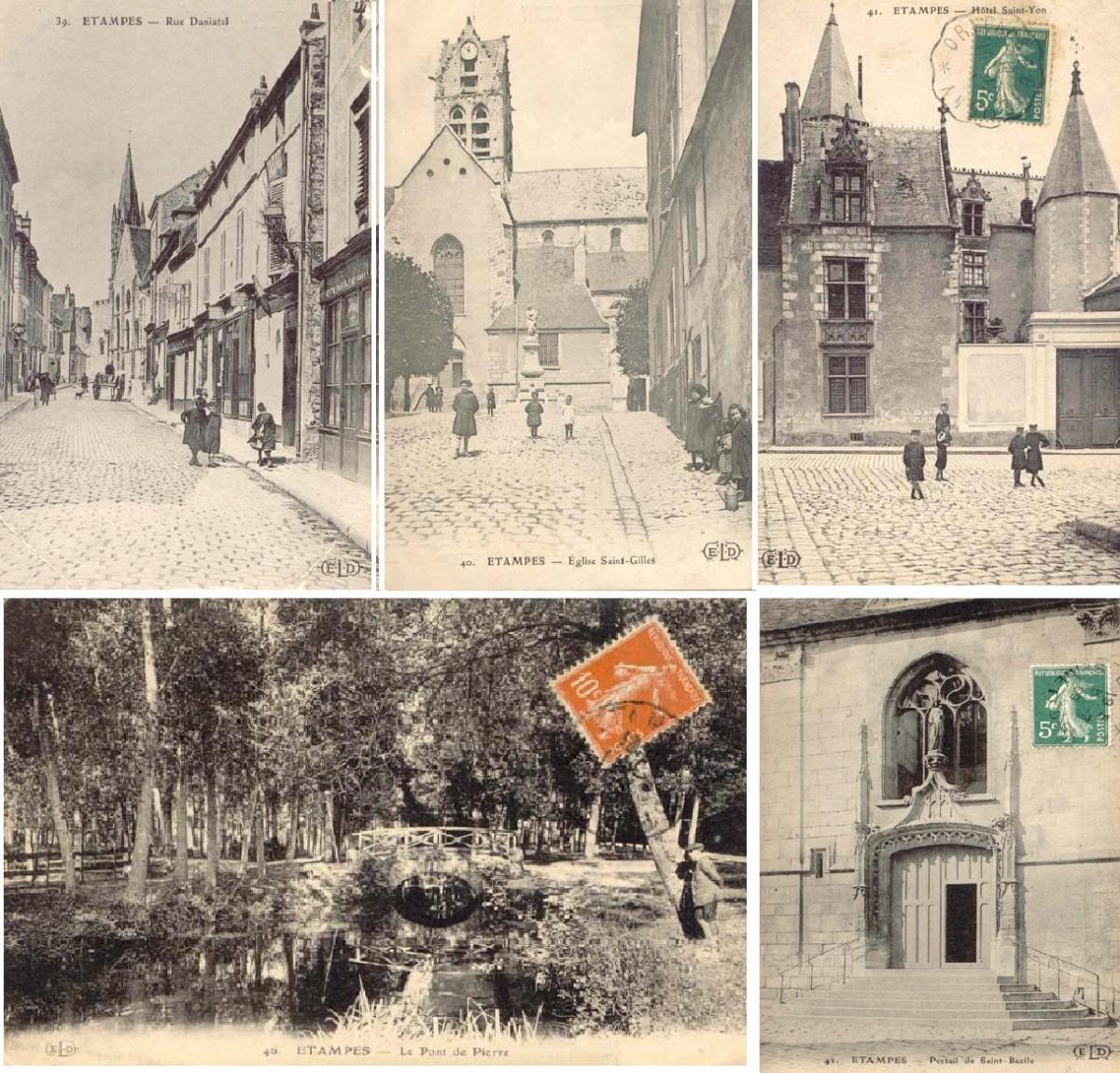 Париж на открытках начала 20 века