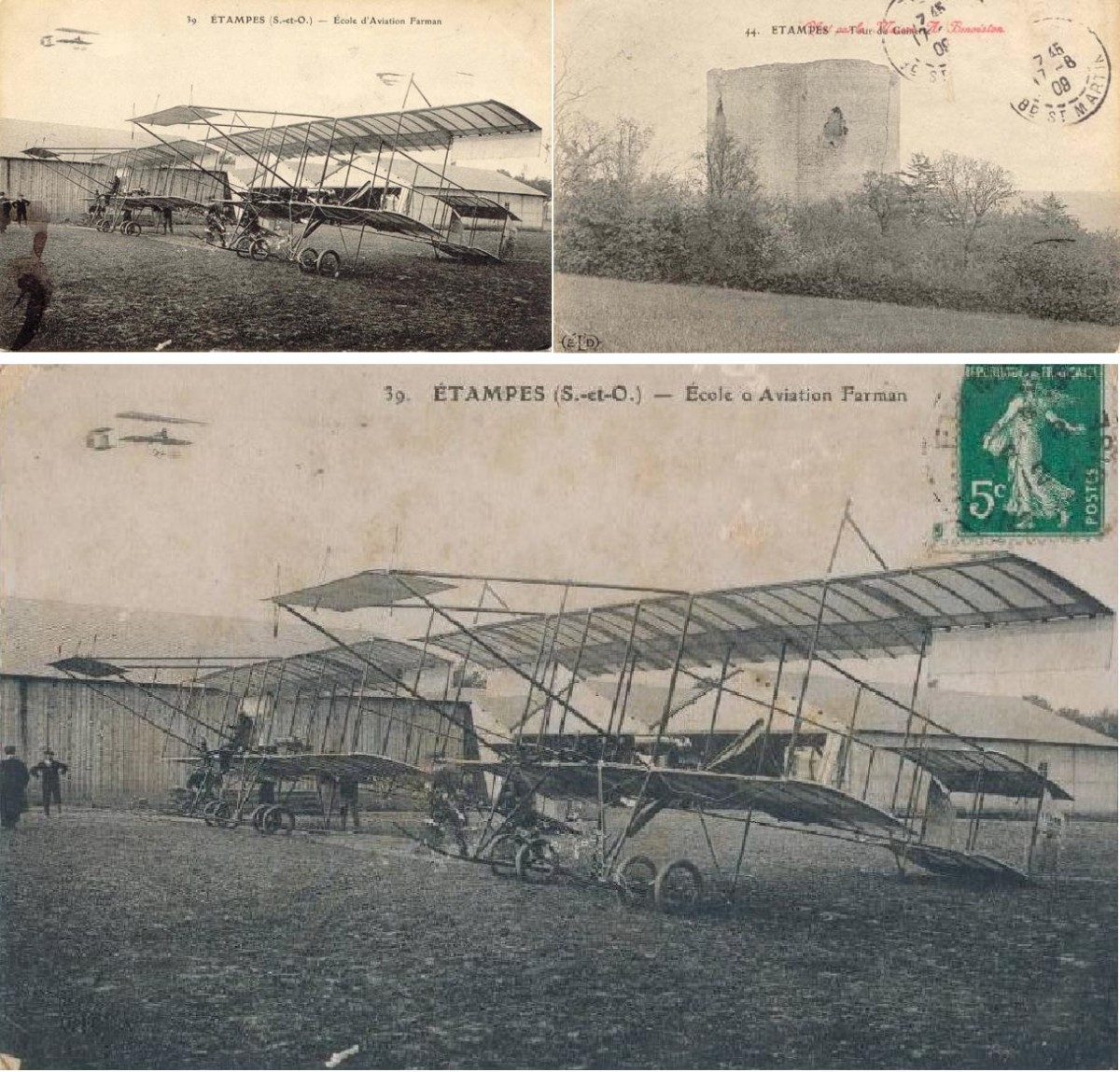 Французские самолеты начала 20 века