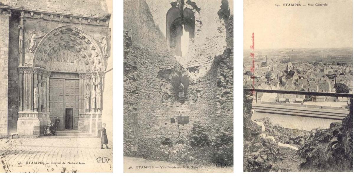 Французские фотооткрытки начало прошлого века