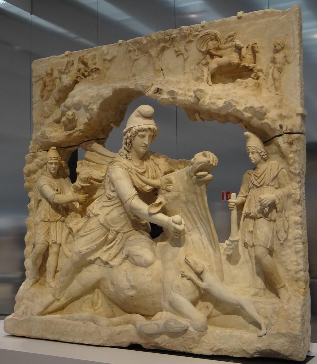 Скульптура Митры