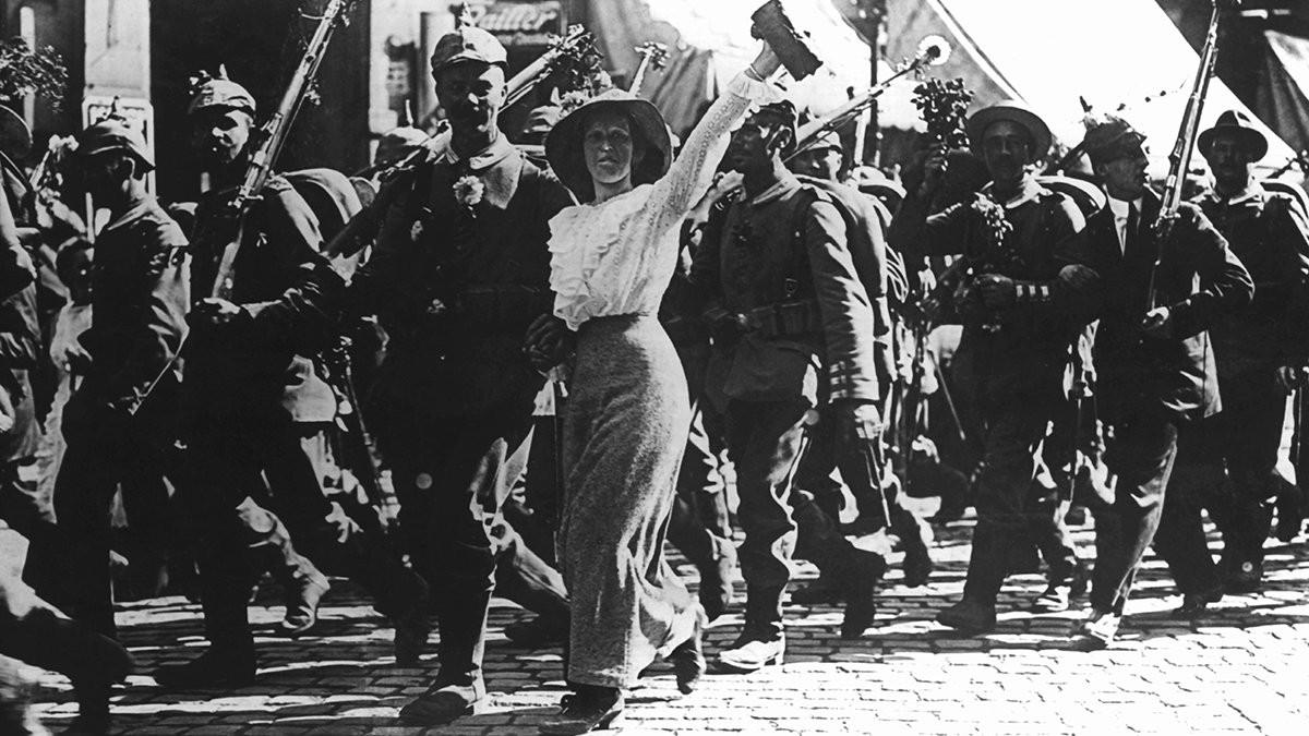 мобилизация в германии 1914 год