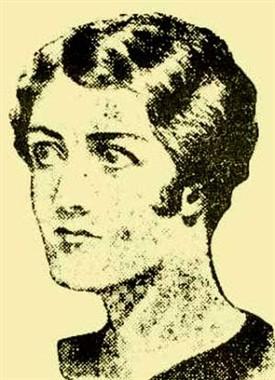 Кристиана Эдмундс - портрет неизвестного художника