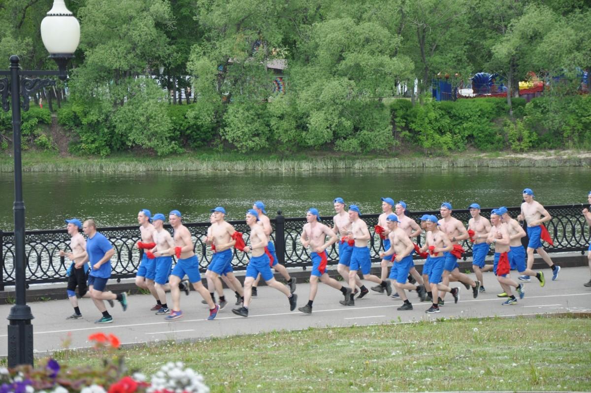 физкультурники в Ярославле
