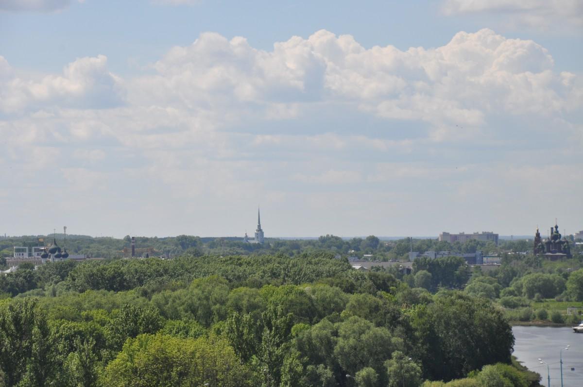 С колокольни можно увидеть даже район Красного Перекопа