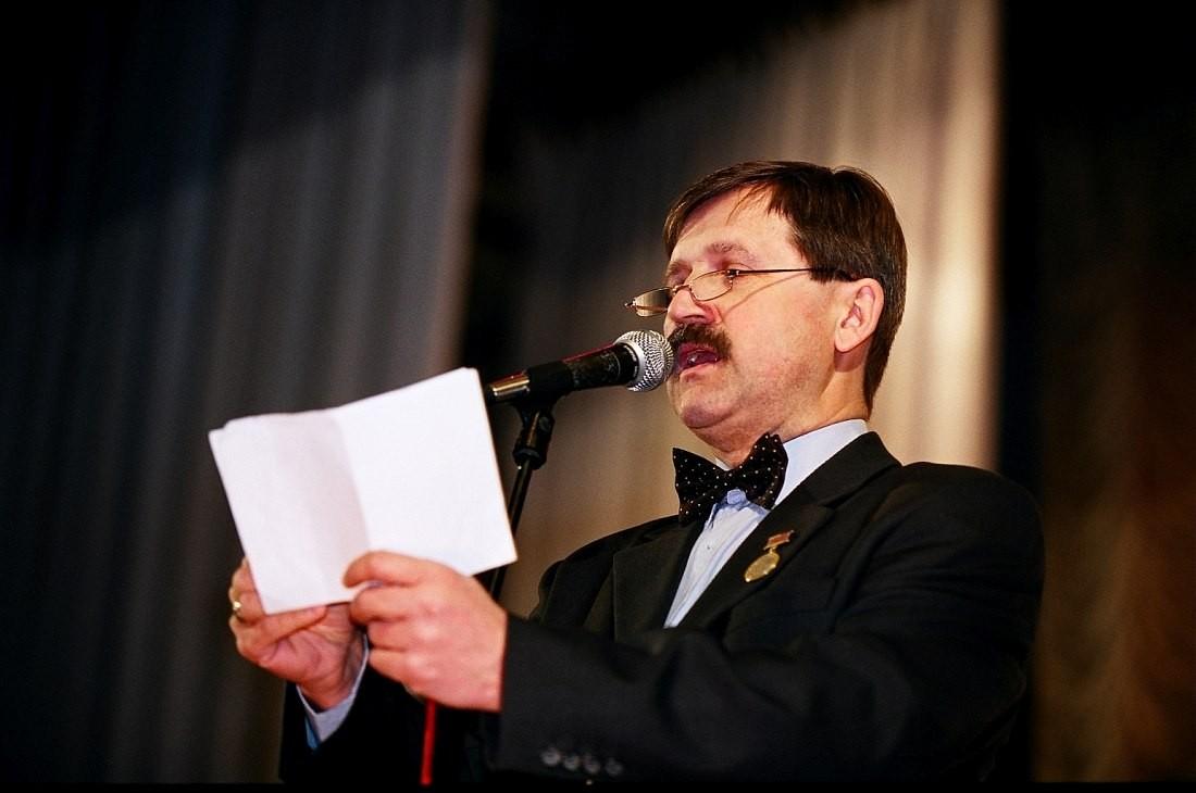 Гаврилов на открытии фестиваля Джаз над Волгой 2005 год